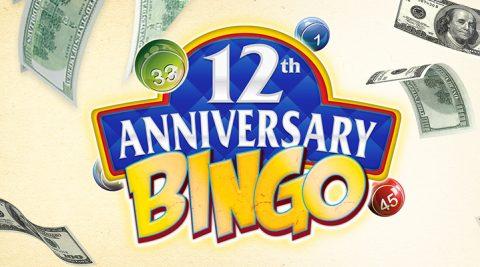 Image of 12th Anniversary Bingo – Thursday, September 13th