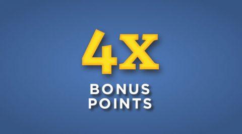 Image of (Sunday) 4X Bonus Points