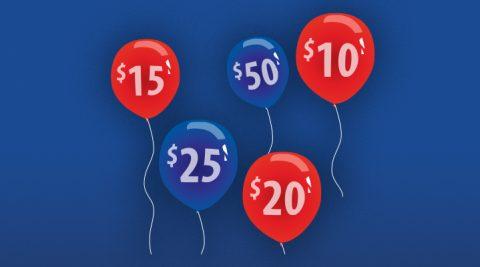 Image of (Thursday) Balloon Bustin' Bonus