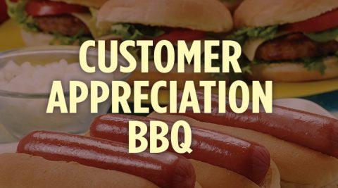 Image of Customer Appreciation BBQ