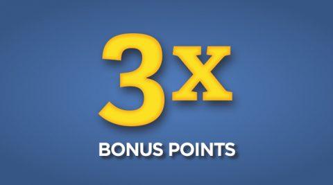 Image of Thursday 3X Bonus Points