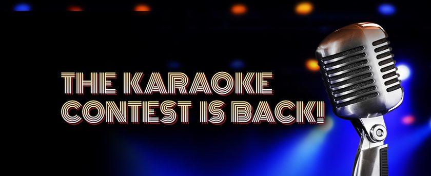Image of Karaoke Contest is Back!